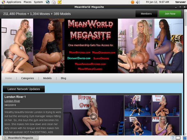 Free Login Meanworld