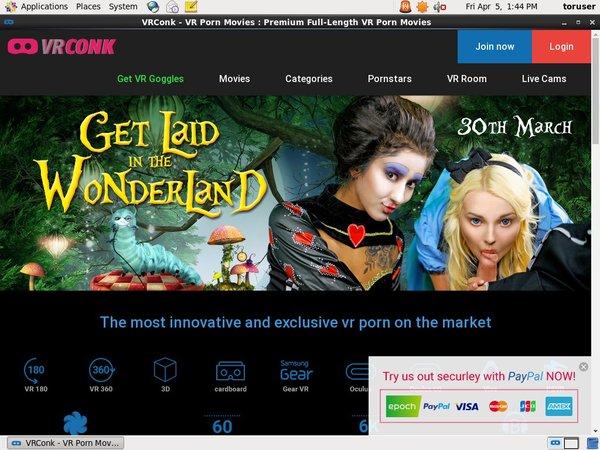 Vrconk.com Renew Password