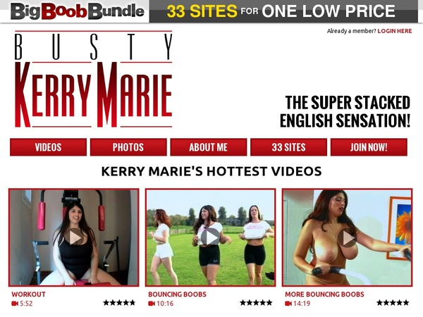 Busty Kerry Marie Trial Access
