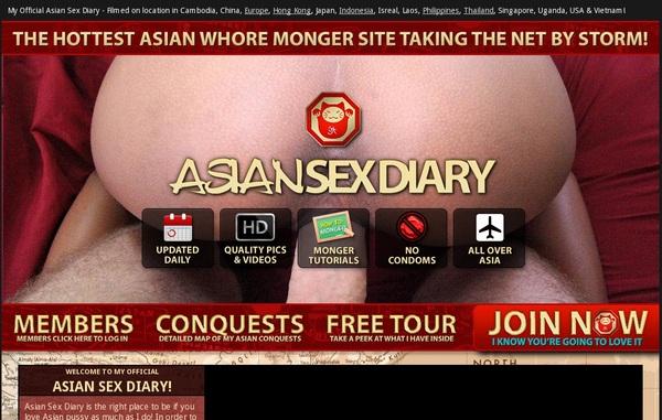 Asiansexdiary.com Free Account