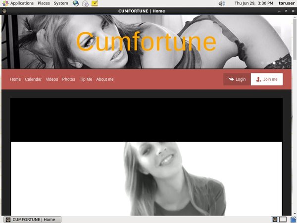 CUMFORTUNE Site Rip Download
