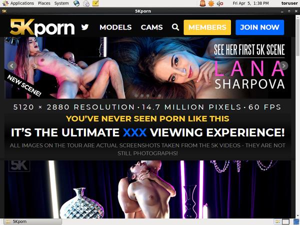 5K Porn Passworter