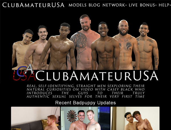 Accounts To Club Amateur USA