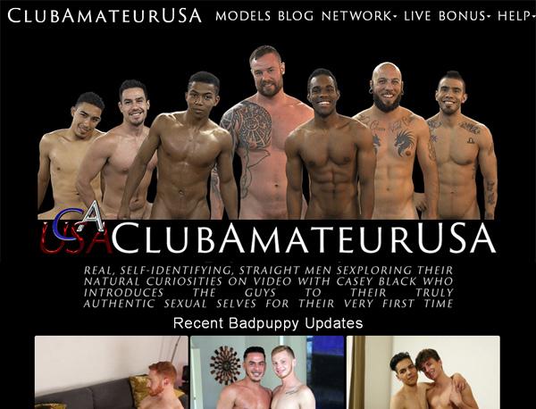 Accounts To Club Amateur USA