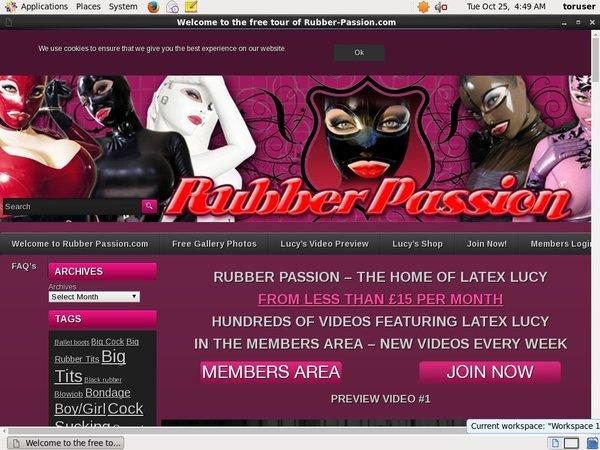 Passwords Rubber-passion.com Free