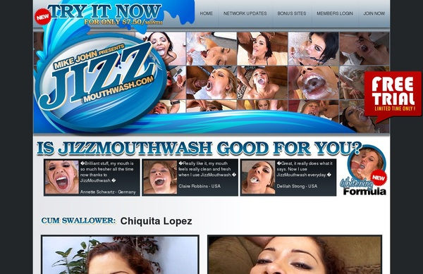 Jizz Mouth Wash Site Discount