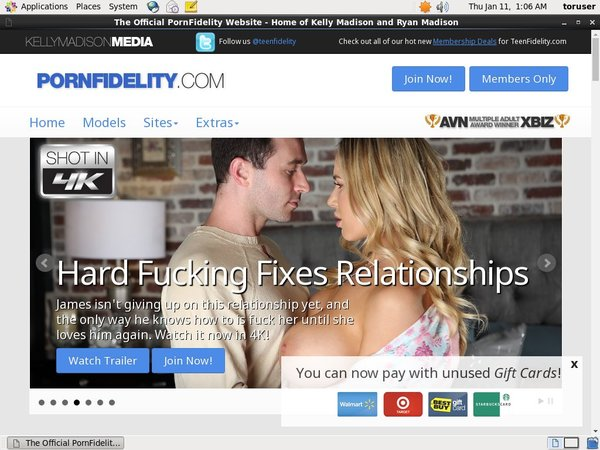 Pornfidelity.com Login Passwords