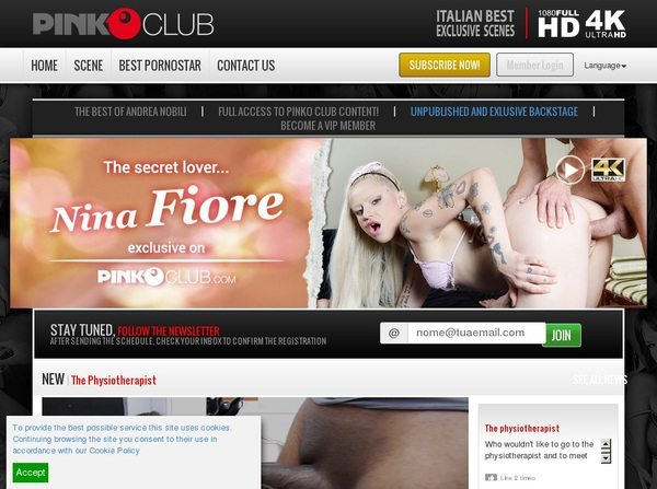 Pinkoclub Accounts And Password